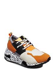 Cliff Sneaker - ORANGE/BLACK