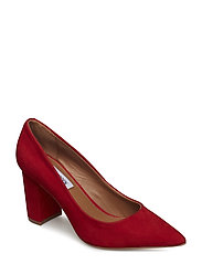 Ashlyn Pump - RED NUBUCK