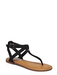 Hidden Sandal - BLACK NUBUCK