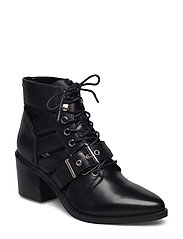 Emmy Ankle Boot - BLACK LEATHER