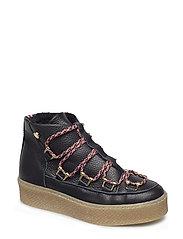 Wandolo Sneaker - BLACK LEATHER