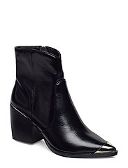 Preston Bootie - BLACK LEATHER