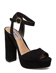 Madeline Dress Sandals - BLACK SUEDE