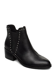 Cade Bootie - BLACK LEATHER