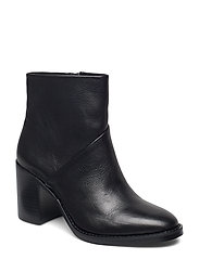 Tenley Bootie - BLACK LEATHER
