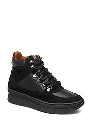 Pandora Sneaker - BLACK LEATHER