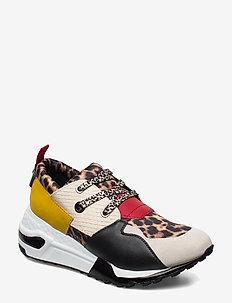 Cliff Sneaker - black/ leopard