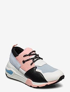 Cliff Sneaker - blue/pink