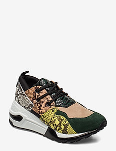 Cliff Sneaker - green snake