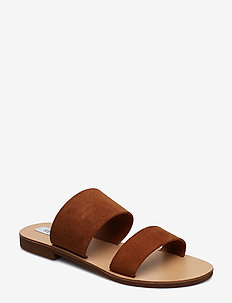 Native Sandal (no size 42) - CHESTNUT SUEDE