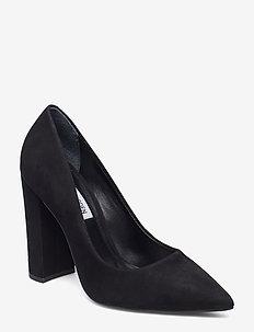 Prance Heel - BLACK NUBUCK