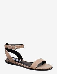 Salute Flat Sandals - BLUSH SUEDE
