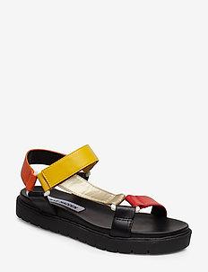 Duplow Sandal - BLACK MULTI
