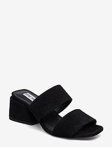 Keline Sandal - BLACK SUEDE