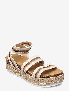 Kimmie Sandal (no size 42) - flade espadrillos - beige multi