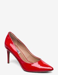 Lillie - klassiska pumps - red patent