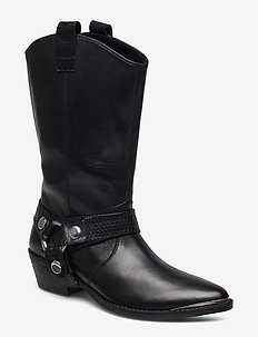 Galler Boot - BLACK LEATHER