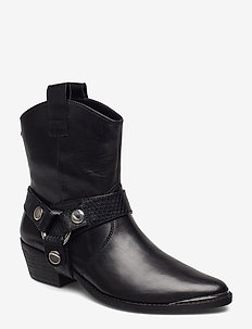 Gallow Bootie - BLACK LEATHER