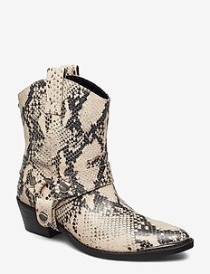 Gallow Bootie - NATURAL SNAKE