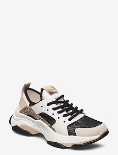 Ajax - chunky sneakers - white/gold
