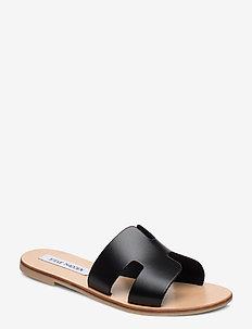 Grayson Slide - black leather