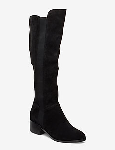 Giselle Boot - BLACK SUEDE