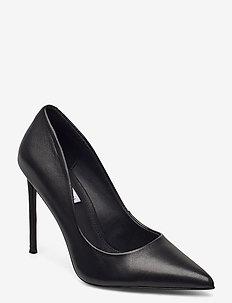 Vala - klassiska pumps - black leather
