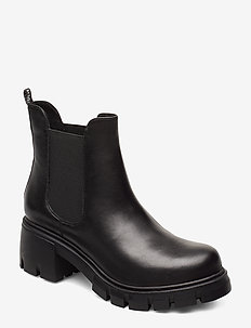 Forza Bootie - BLACK LEATHER