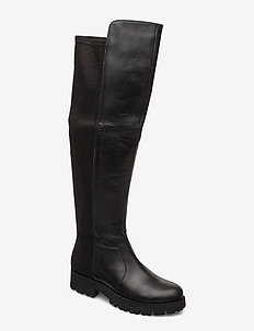Hilly Boot - BLACK LEATHER