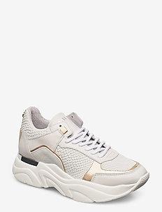 Flexy Sneaker - white suede