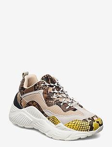 Antonia Sneaker - beige snake