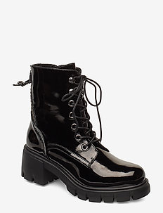 Feyla Bootie - BLACK PATENT