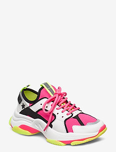 Gradually Sneaker - chunky sneakers - fuschia multi