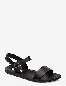League Sandal - black leather