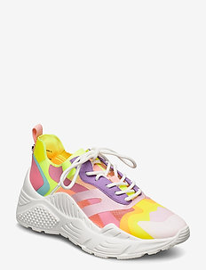 Ashen Sneaker - chunky sneakers - purple multi