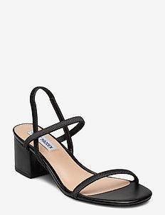 Inessa Sandal - sandały na obcasie - black