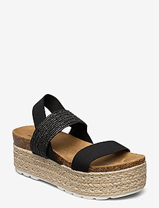 Christia Sandal - BLACK MULTI
