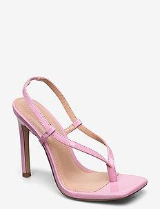 Bashment Sandal - högklackade sandaler - pink patent