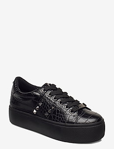 Escala - chunky sneakers - black croco