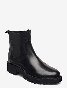 Gracey - koturny - black leather