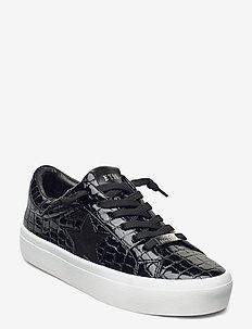 Samiya - sneakers med lav ankel - black croco