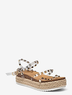 Kailee Sandal (no size 42) - flade espadrillos - clear