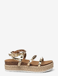 Kailee Sandal (no size 42) - flade espadrillos - gold