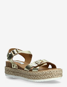 Cam Sandal (no size 42) - flade espadrillos - gold leather