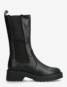 Cycloon Boot - höga stövlar - black leather