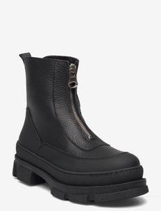 Venga Bootie - talon bas - black leather