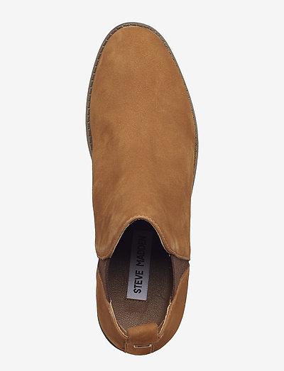 Steve Madden Dante Ankle Boot- Kozaki I Botki Camel Nubuck