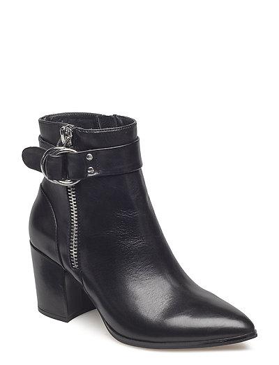 Johannah Ankleboot - BLACK LEATHER