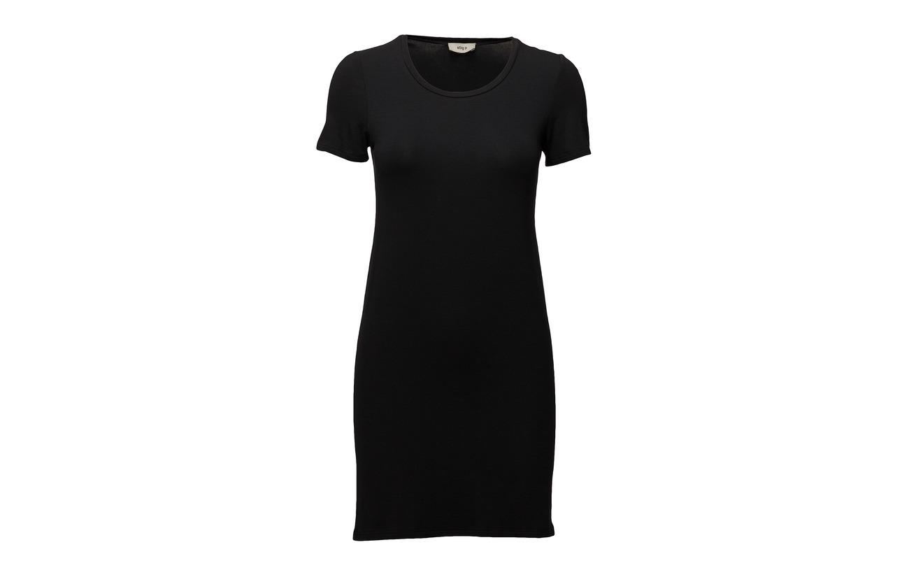 99 Tissu 90 P Inner 10 Elastane Polyester Coquille Extérieure Black Viscose Mio Slip Stig Dress 100 RPxvXqX7