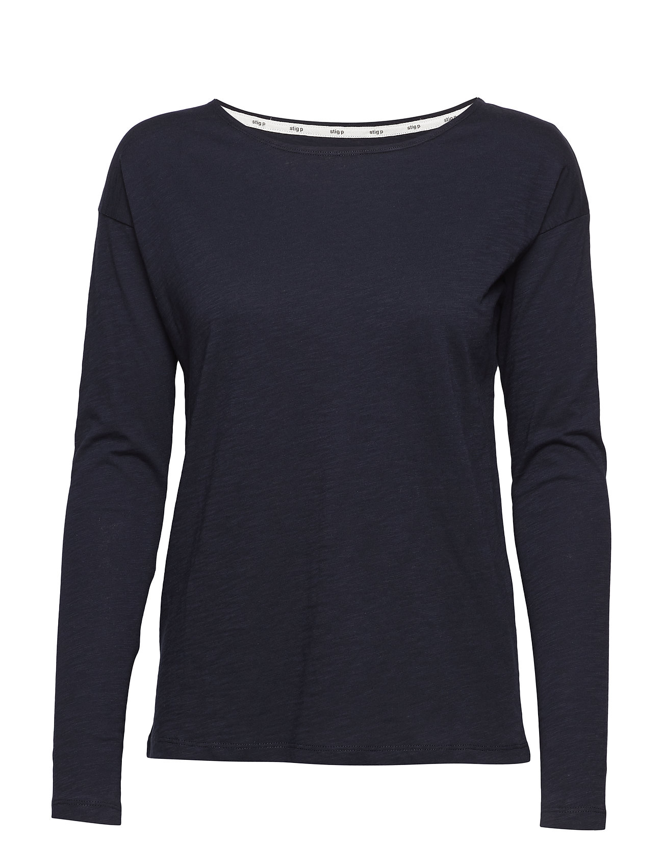 Stig P Dorrie organic T-Shirt - NAVY